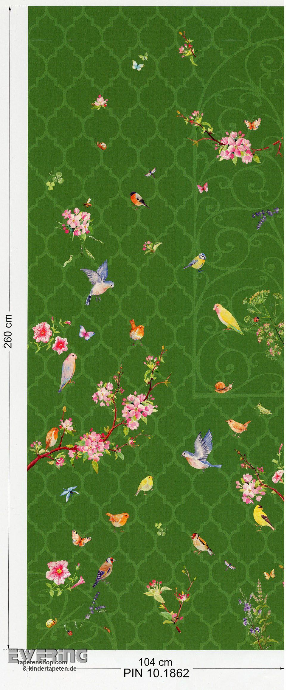 Tapetenshop.  6 47086 Zuhause Wohnen 4 Marburg Panel grasgrün