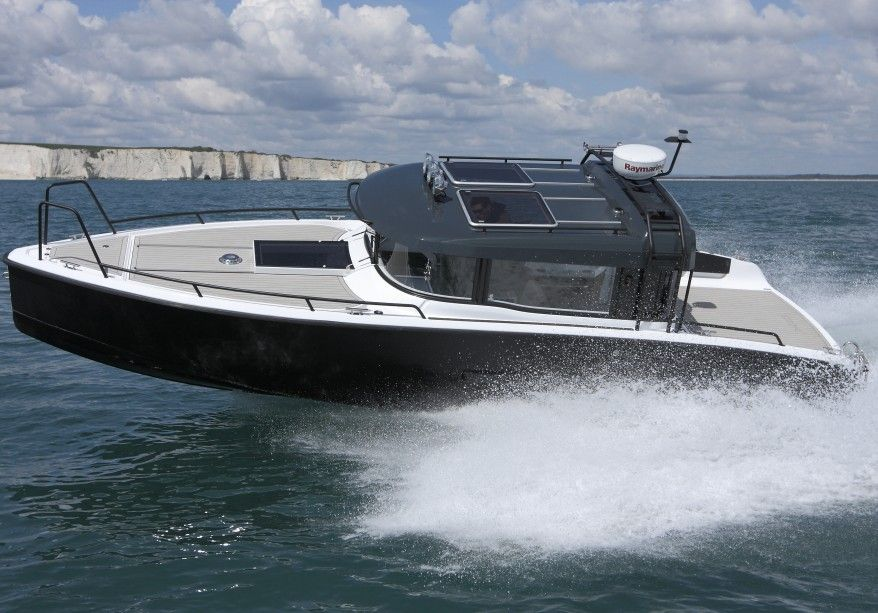 Xo 270 Rs Front Cabin Cruiser Boat Boat Design Boat Building