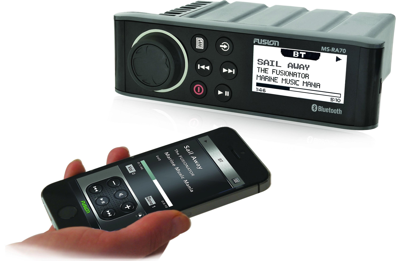 Fusion Ms Ra70 Cj7 Pinterest Electronics Bluetooth And Boat Crutchfield Audio Marine Digital Media Receiver With Does Not Play Cds At Crutchfieldcom