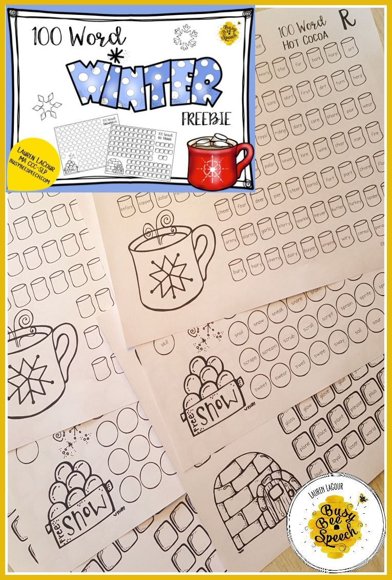 Worksheets Free Articulation Worksheets 100 trials winter for speech therapy free slps on tpt pinterest trial articulation perfect worksheets to get lots of productions r s and l