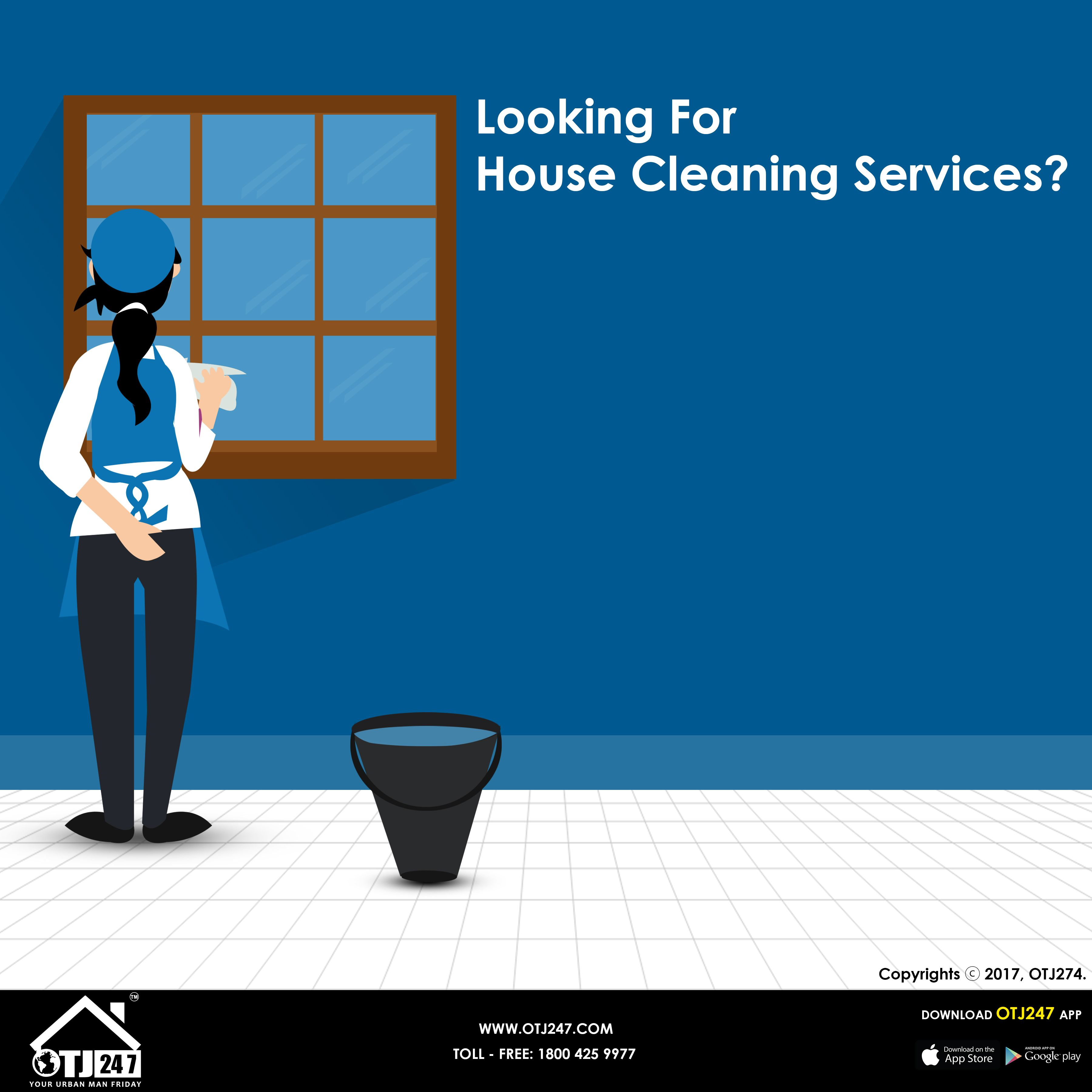 looking for house cleaners