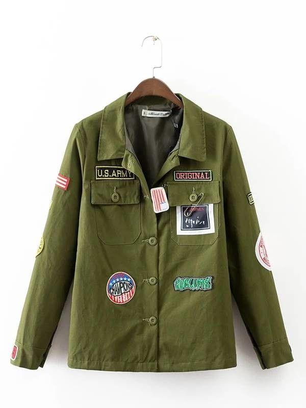 d77dc661713 Casaco Militar Feminino - Compre Online