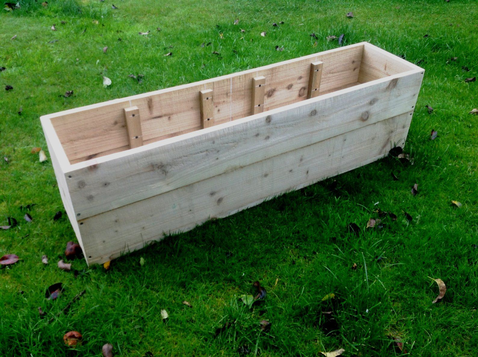 20 SALE Extra Large Wooden Planters / Raised Beds