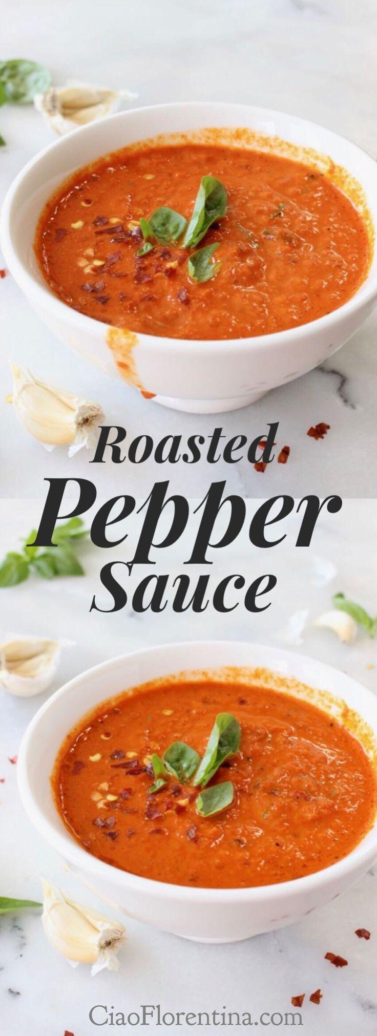 Roasted Red Pepper Pasta Sauce Recipe Ciaoflorentina Recipe Roasted Red Pepper Pasta Stuffed Peppers Red Pepper Pasta Sauce [ 2023 x 736 Pixel ]