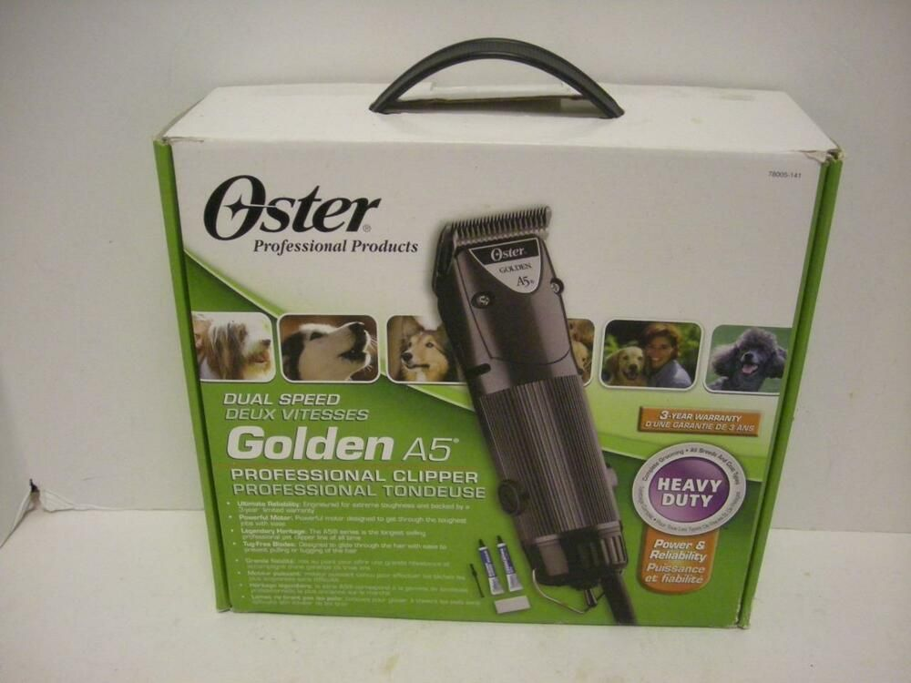 Andis Excel 5 Speed Clipper Pink Dog grooming clippers