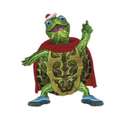 Check Out This Transparent Wonder Pets Character Tuck The Turtle