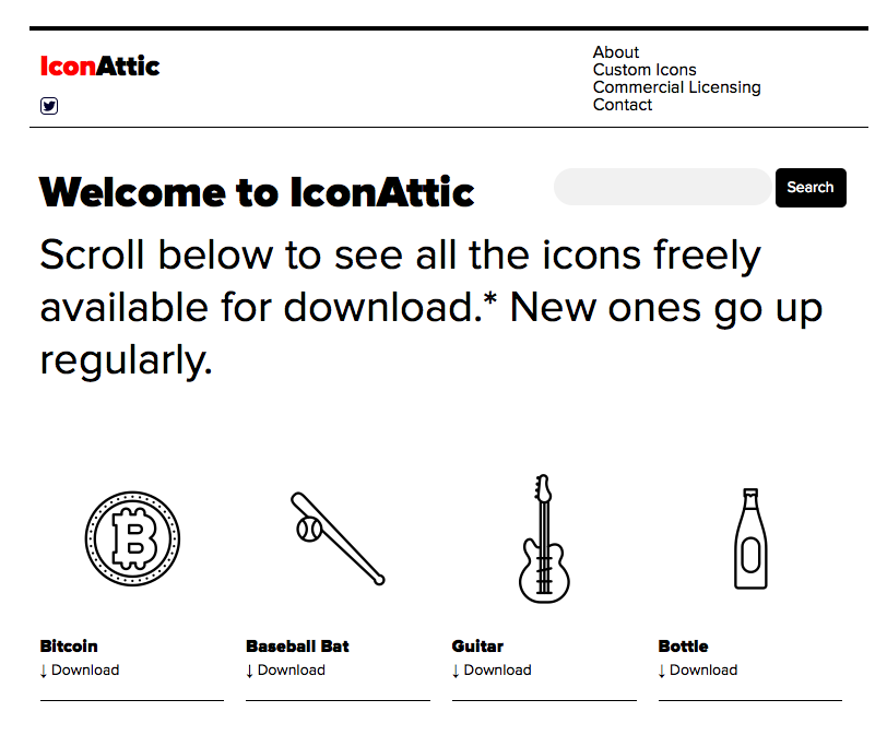 icons - cool