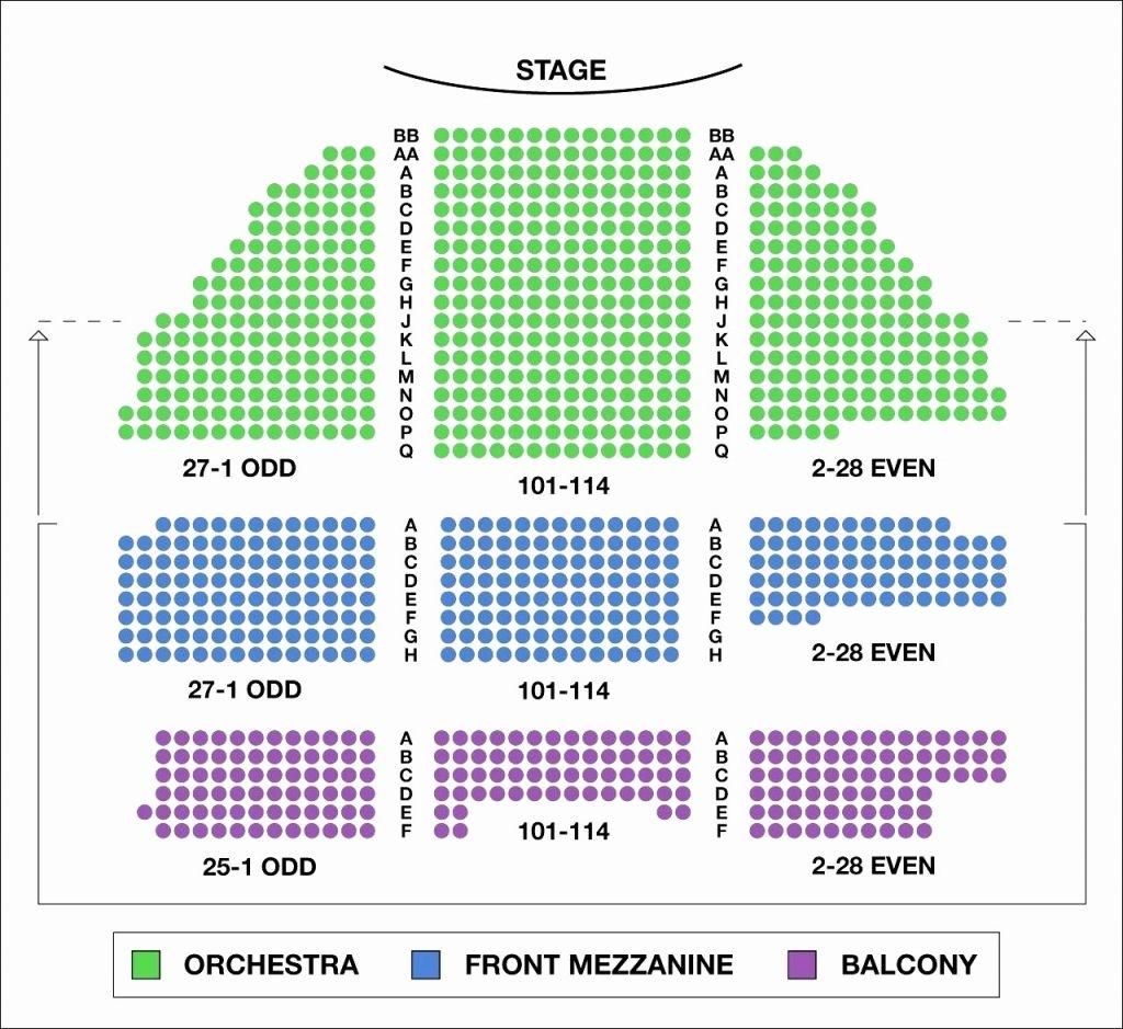 The Stylish Benedum Seating Chart Seating Charts Chart Theater Seating