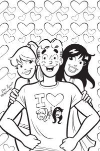 Get creative with Archie and the gang in ARCHIE\'S COLORING BOOK ...