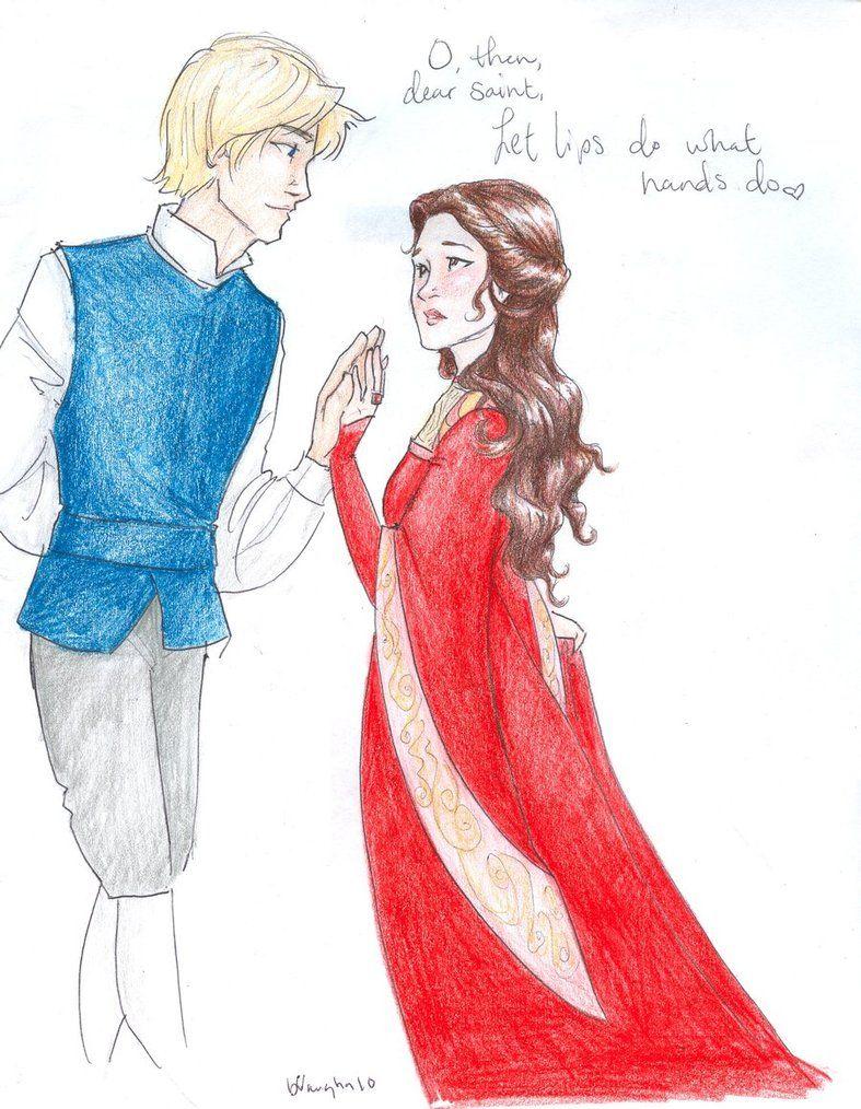 Romeo And Juliet Juliet Romeu E Julieta Desenhos