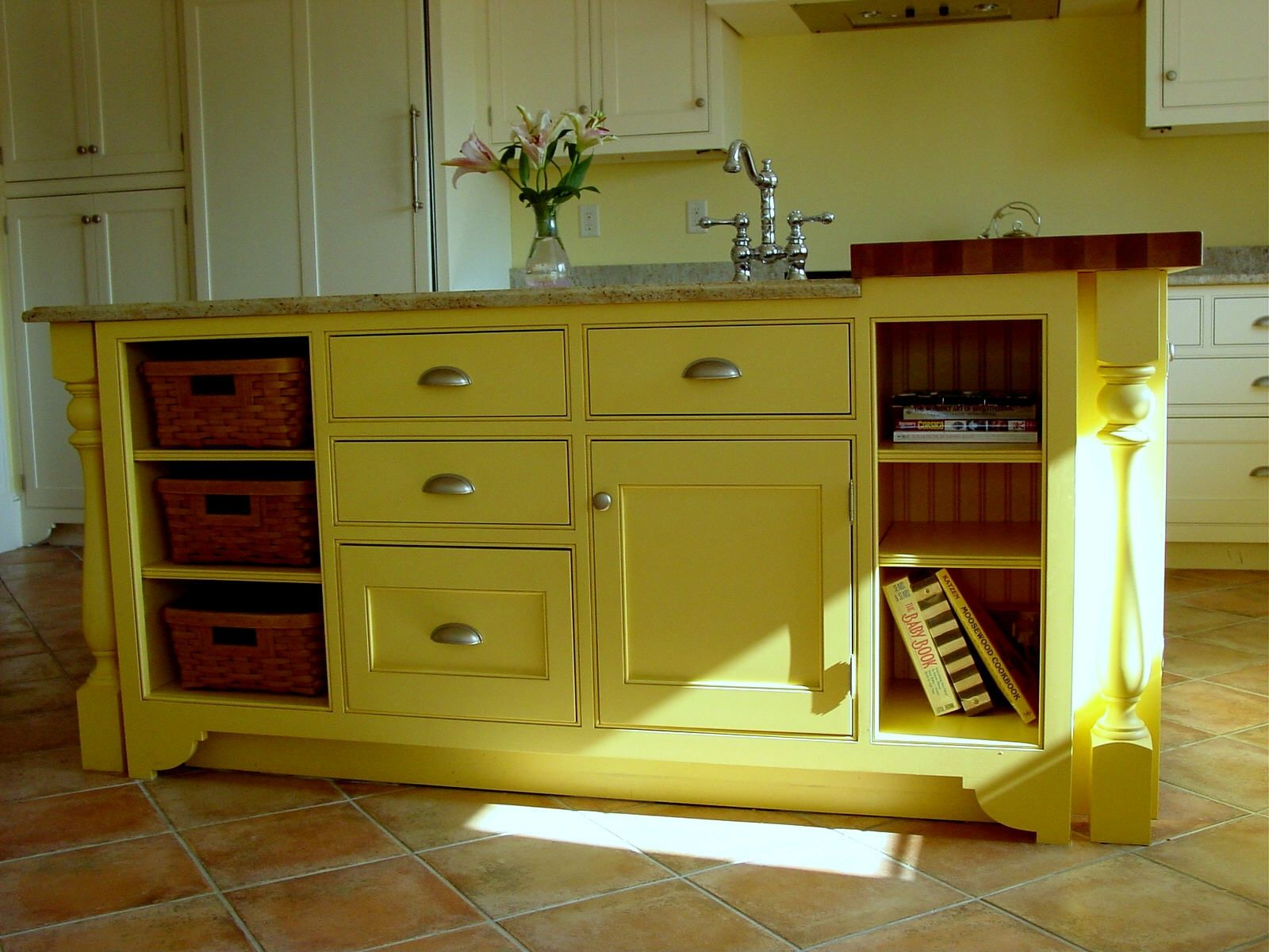 Upcycle an old dresser or similar find and turn it into a kitchen