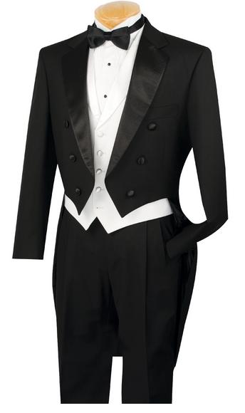 Men Fashion Tuxedo dress Button Formal Fit Dinner Jacket Swallow-Tailed Coat Set
