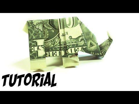 Photo of Origami $1 Elephant Tutorial (Traditional)