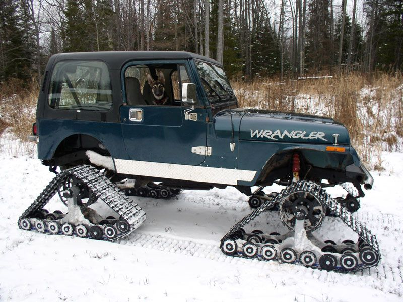 American Track Truck Vehicles Snow Vehicles Willys Jeep