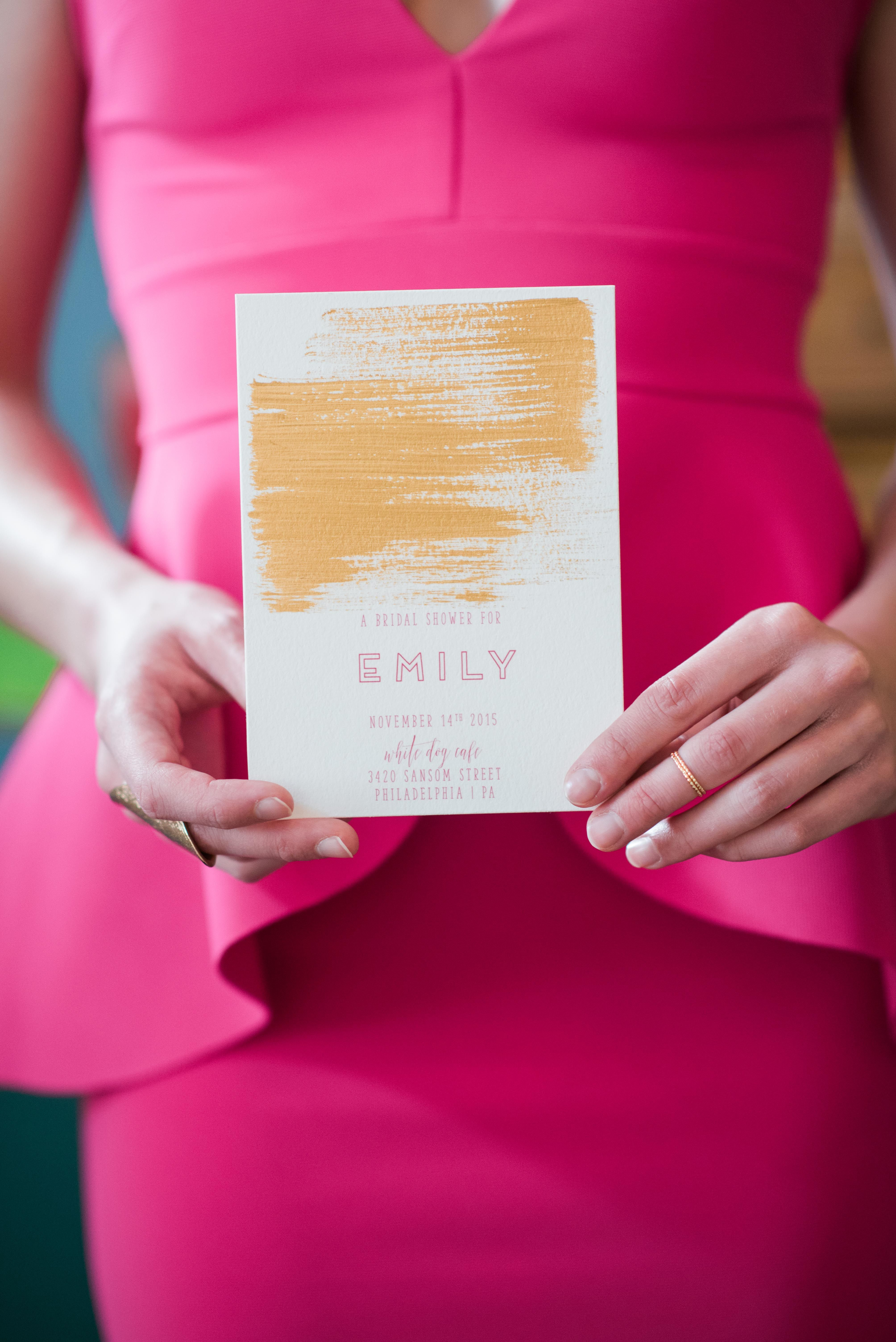 Fuchsia and Gold Bridal Shower | Bridal showers, Gold color palettes ...