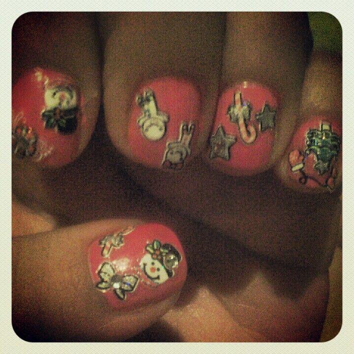 Christmas nails!!! :-)