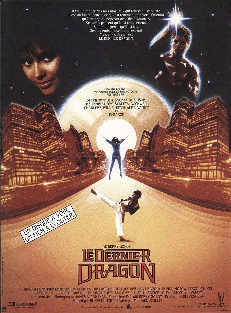 THE LAST DRAGON Movie POSTER 27x40 B Taimak Vanity Christopher Murney Julius J.