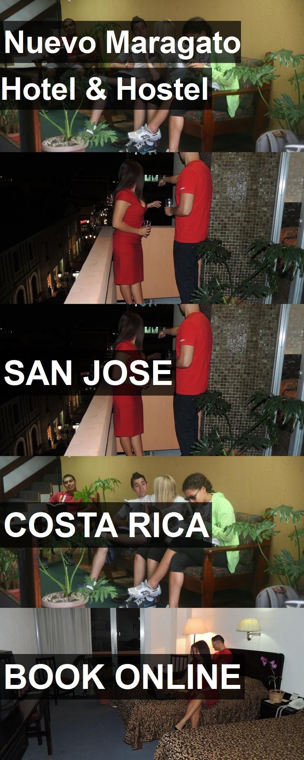 Nuevo Maragato Hotel Costa rica books, San jose costa
