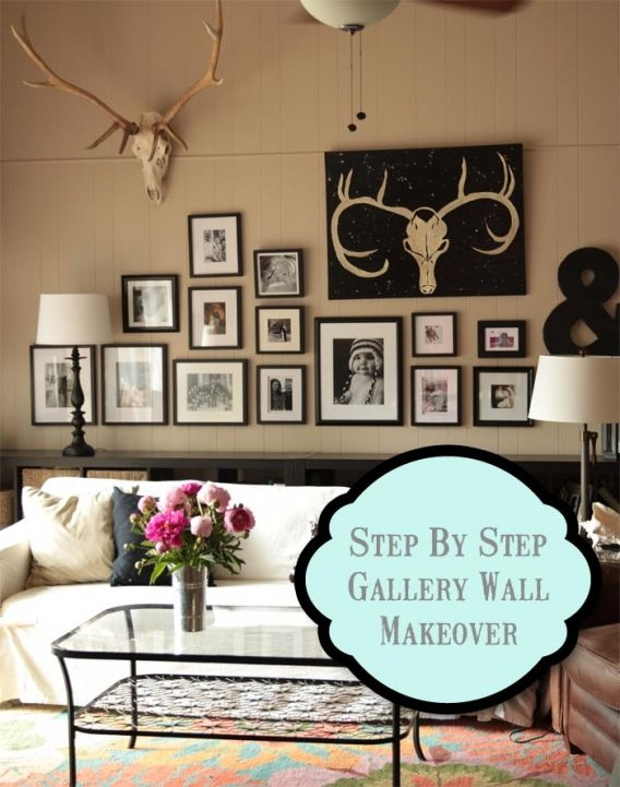Step by Step Gallery Wall How To | Petit Lapin