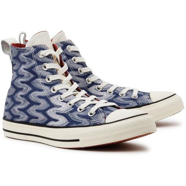 Hi-Top Trainers Converse X Missoni Chuck Taylor All Star... ( 110) ❤ liked  on Polyvore featuring shoes 15b6278db