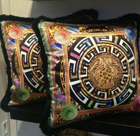 Versace throw pillows