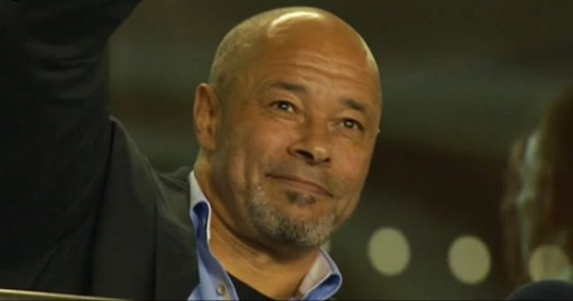 WATCH: The lovely moment Irish fans spotted Paul McGrath on the big screen and…
