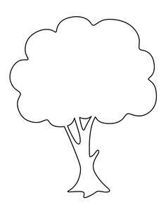 tree template to print