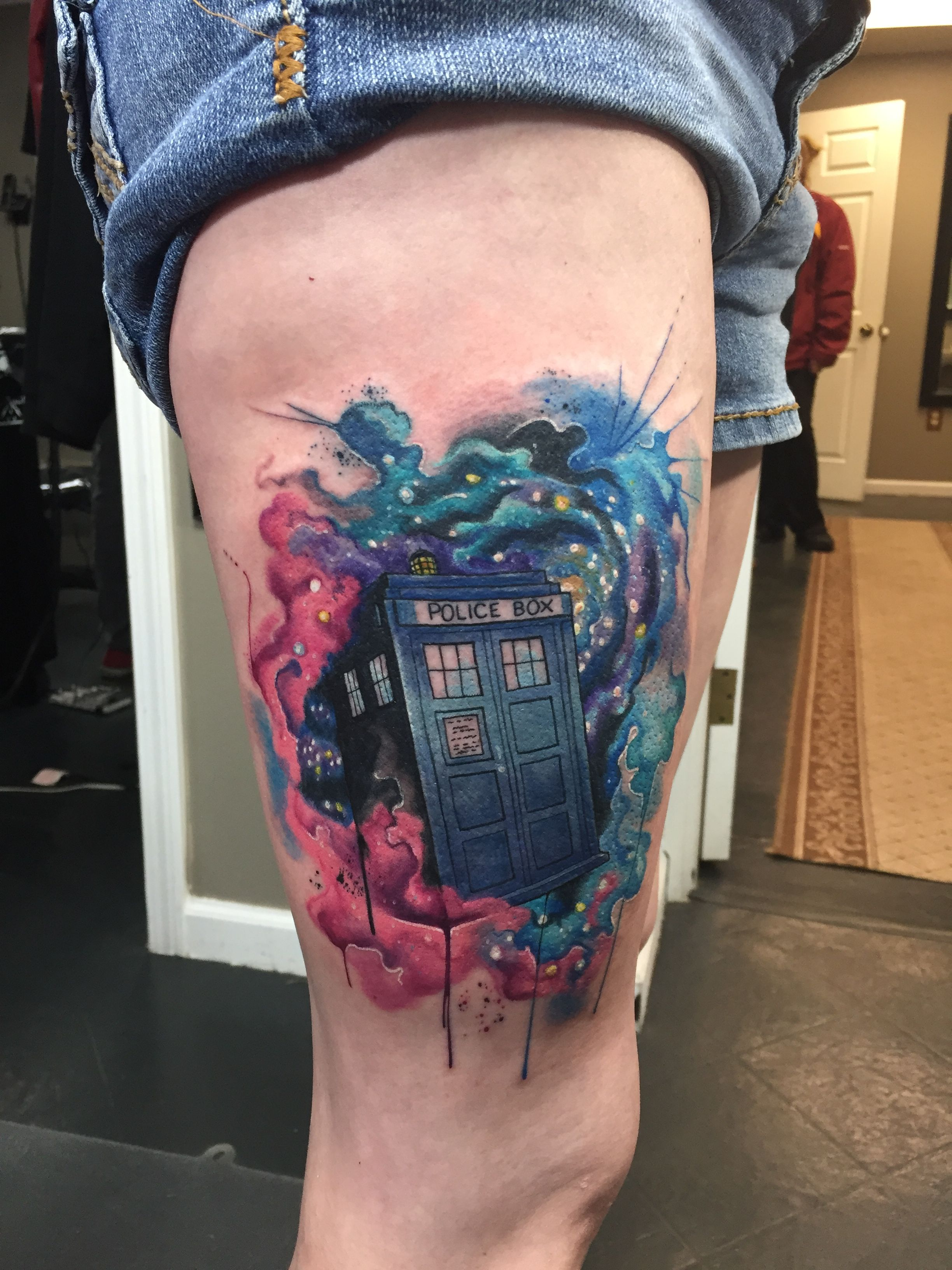 Doctor Who Tattoos, Tardis Tattoo, Tattoos