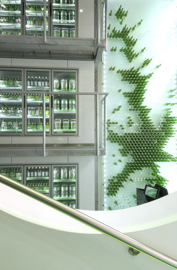 Gallery of heineken the city tjep 10 heineken store design and foyers - Heineken amsterdam head office ...