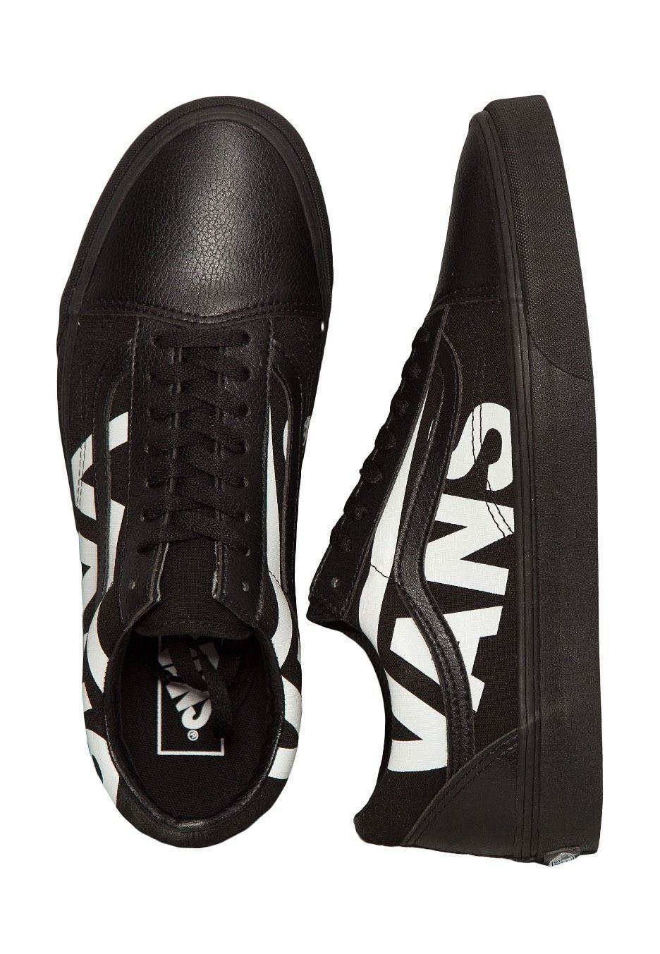 Compra Vans - Old Skool Vans Black/True White - Zapatos de Vans por €84,99 por un precio fantástico (27/1/2018) en la tienda online ES.