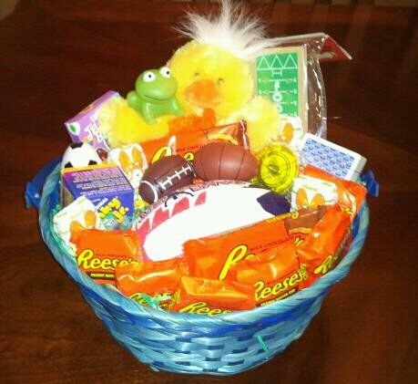 Teenage boy easter basket babyrificgifts easter baskets teenage boy easter basket babyrificgifts negle Image collections