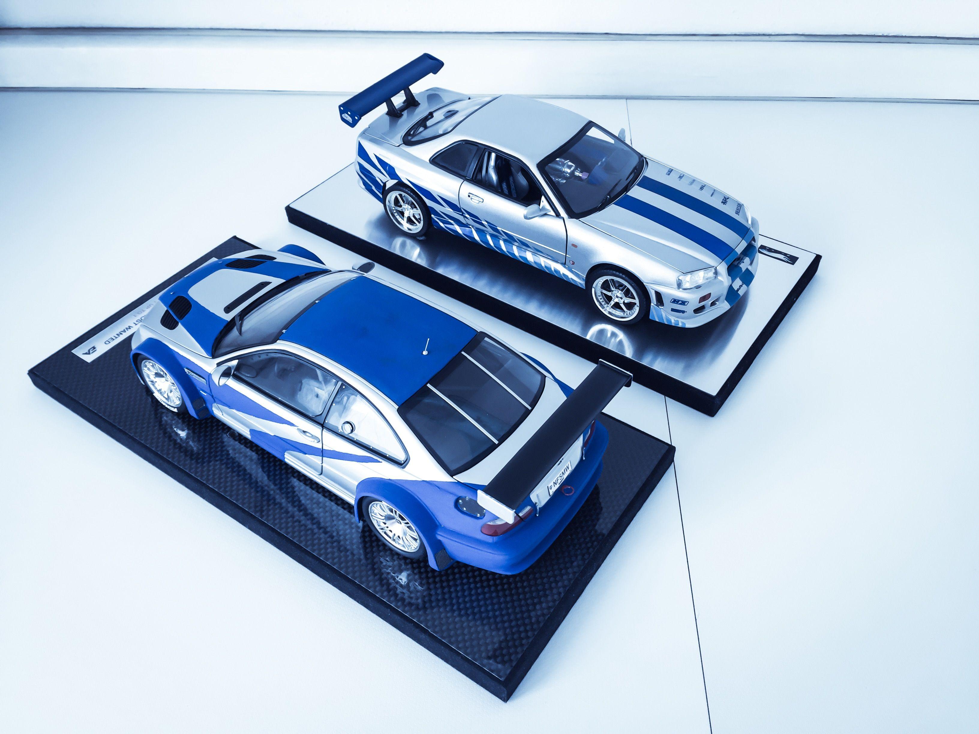 Bmw M3 Gtr Nfsmw Nissan Skyline Gtr 34 F F2 Carros