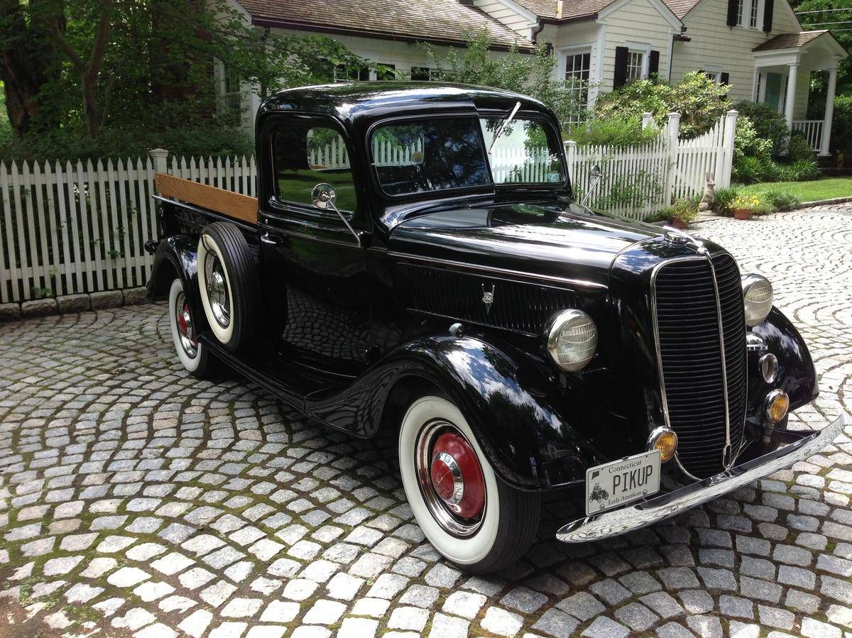 1937 Ford Pick Up 85hp..Re-pin Brought to you by #CarInsurance at ...