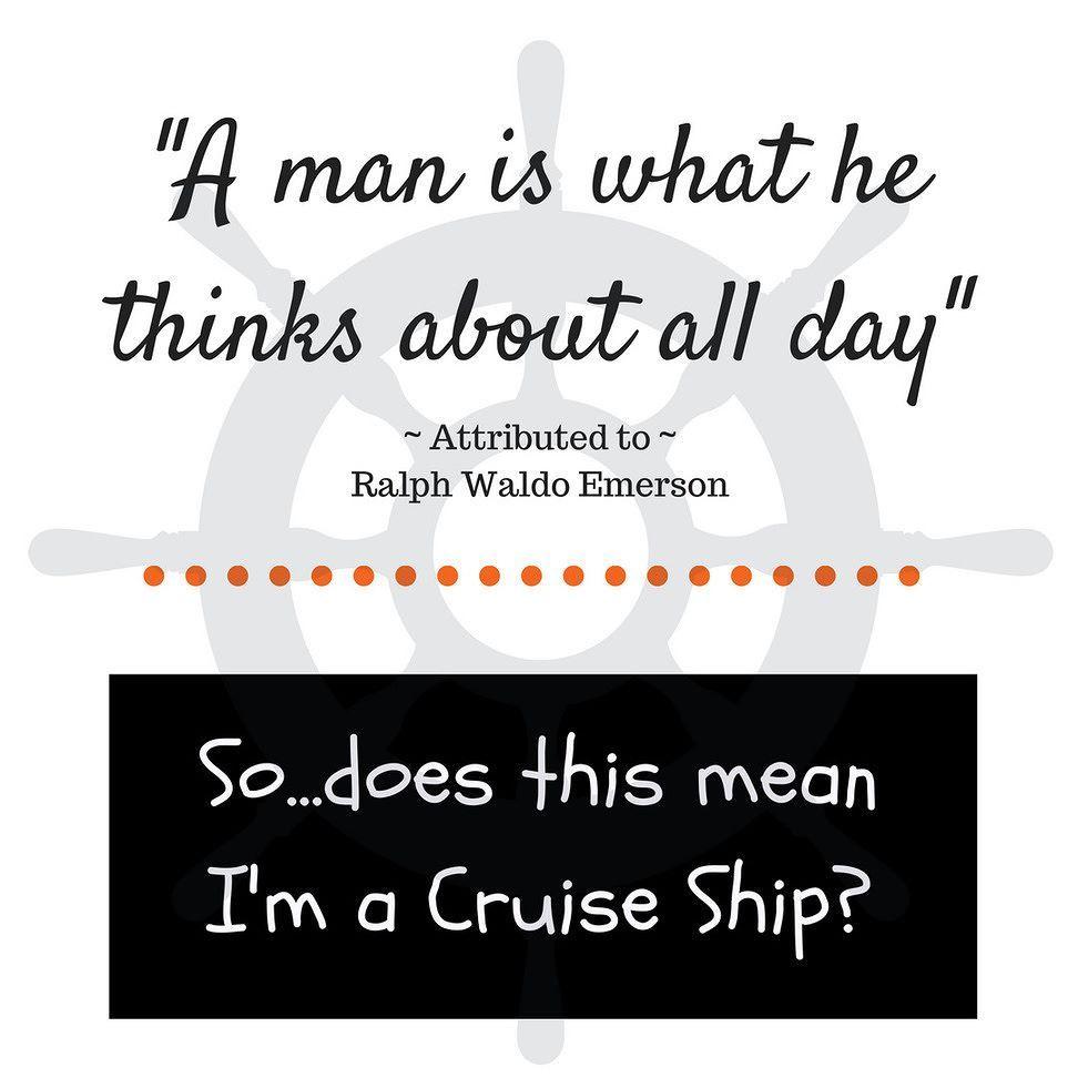 I'm a cruise addict