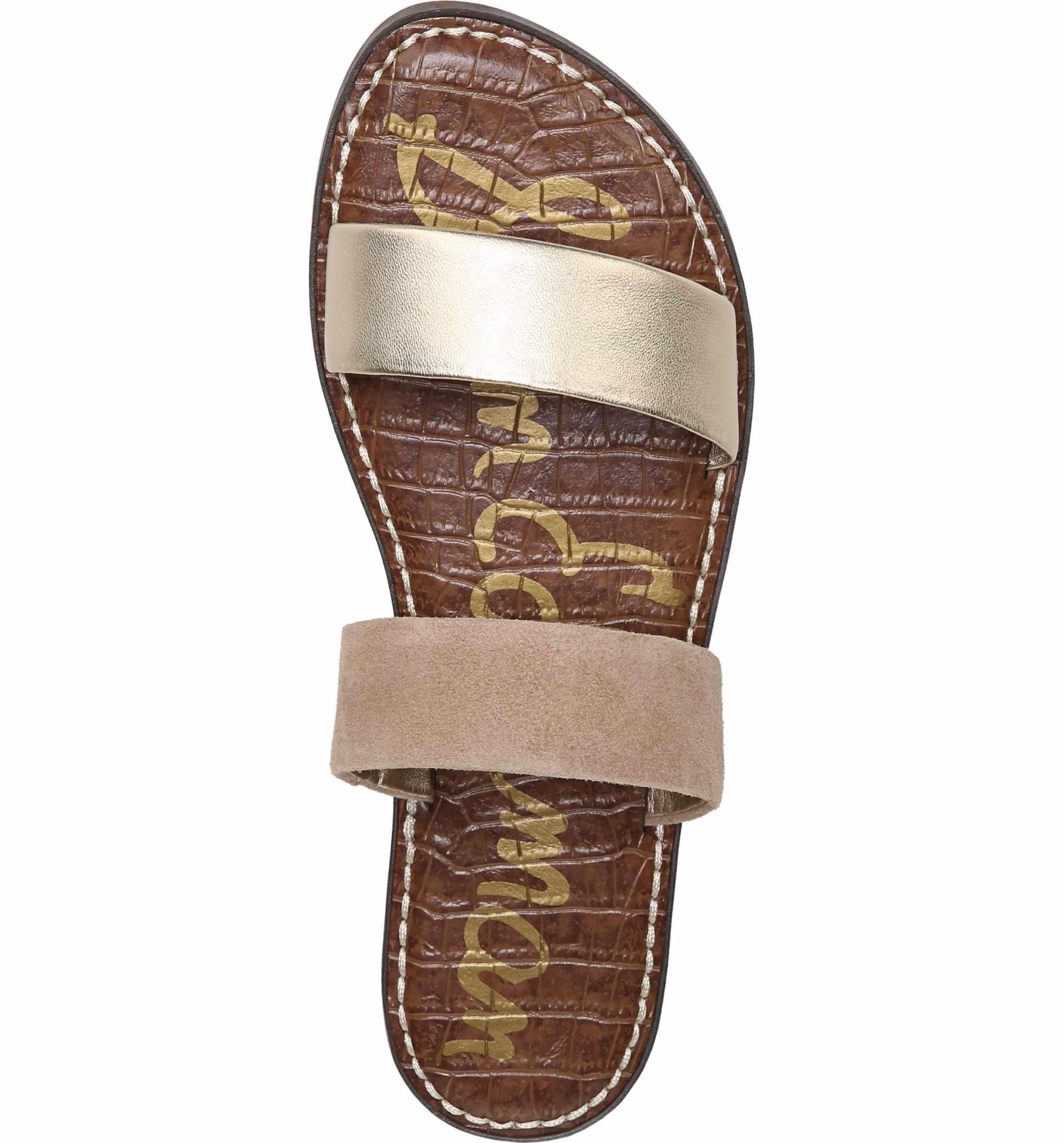a778691432ee Main image sam edelman gala two strap slide sandal women jpg 3120x3352 Two  straps slides women