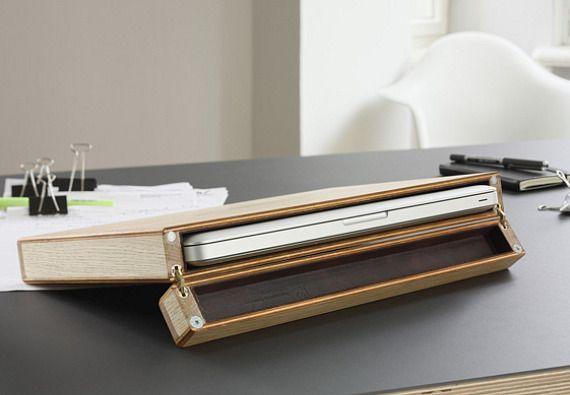 Wooden Laptop Case By Rainer Spehl | wooden bags | Pinterest ...