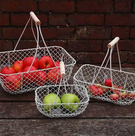 Chicken Wire Fruit And Vegetable Basket