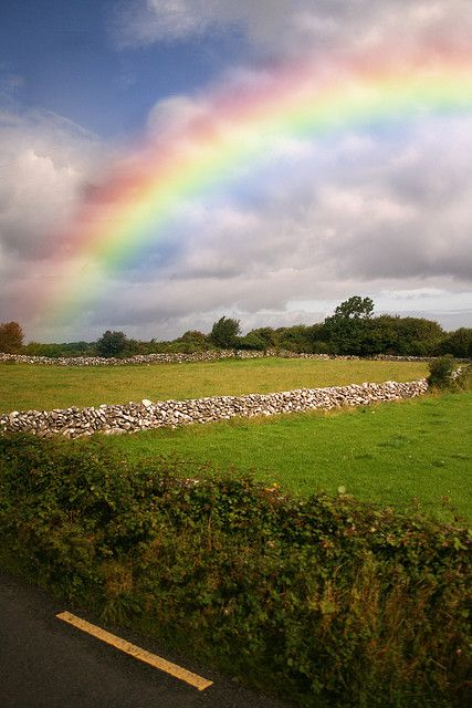 """For Every Storm a Rainbow . . . Irish Blessing"""" by Bonnie T. Barry ..."""