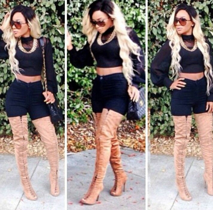 Image result for thigh high lace up boots outfit | Clothes, Shoes ...