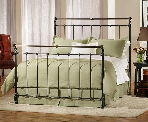 Charles P. Rogers Beds Direct Iron & Brass Sleigh Bed