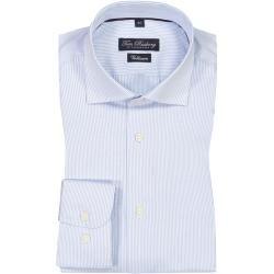 Photo of Oberhemd mit modischen Streifen von Tom Rusborg in Blau für Herren Tom RusborgTom Rusborg