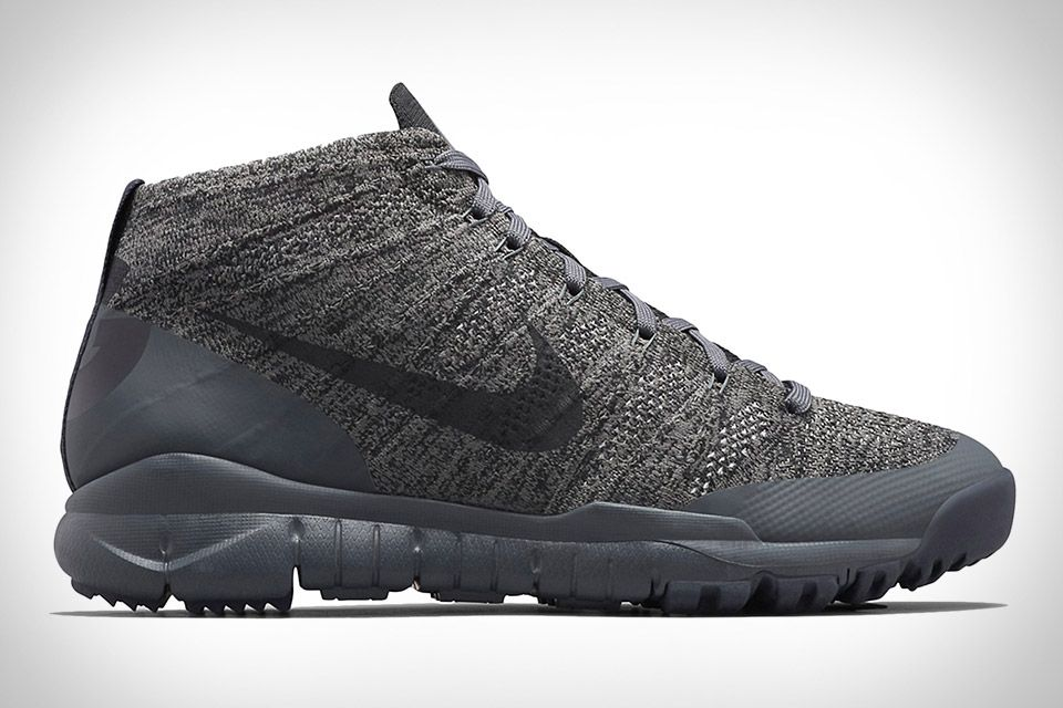 sports shoes c1d12 65d0a Nikes All Conditions Gear line is making a comeback, and it starts with the  NikeLab ACG Flyknit Trainer Chukka SFB. Designed primarily for bad weather  wear ...