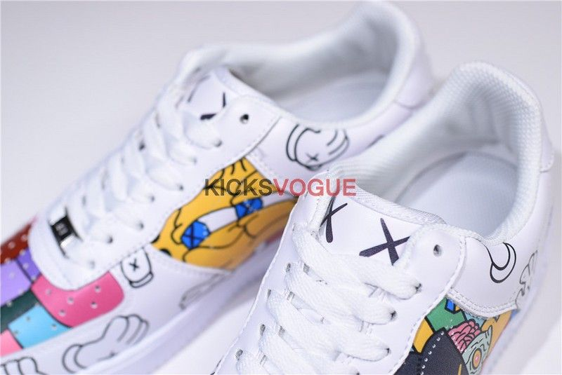 Custom KAWS x Nike Air Froce 1 Low Graffiti in 2019 | Custom