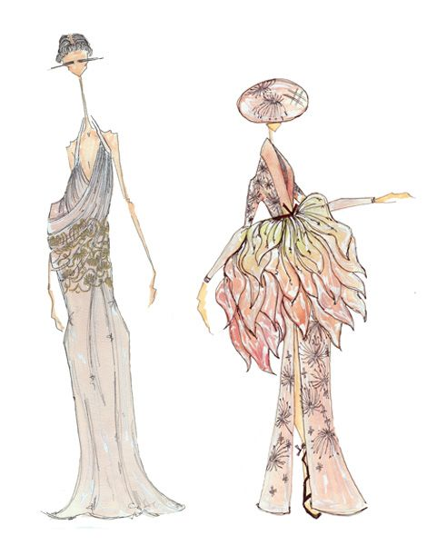 Lcf Fashion Illustration Student Hailed As One To Watch London College Of Fashion