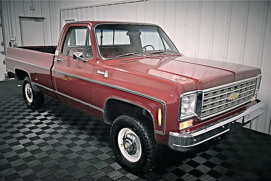 1975 Chevy C K Silverado Pickup With Images Gmc Trucks Chevy