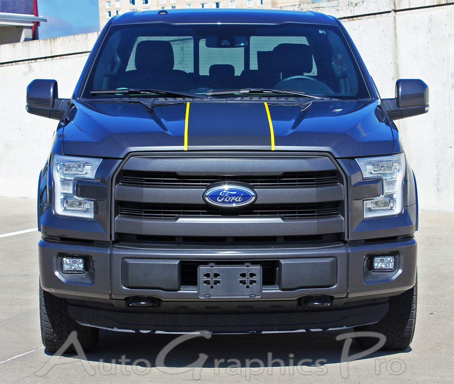 2015 2016 ford f 150 borderline center racing stripe w outline