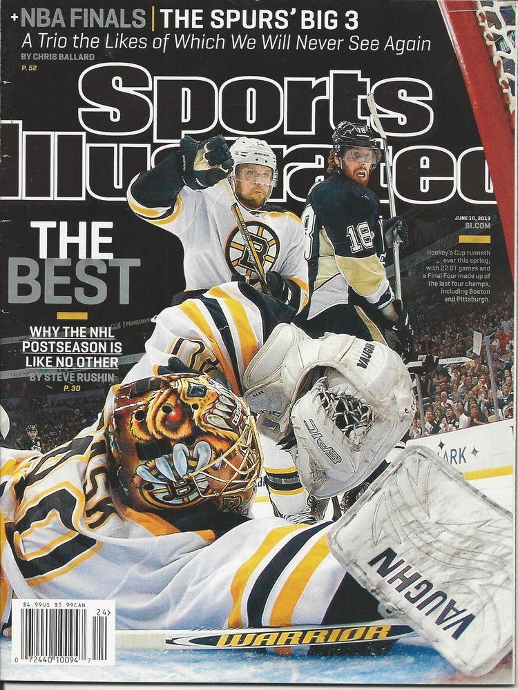 Sports Illustrated Magazine Nhl Hockey Nba Finals The Spurs Evan