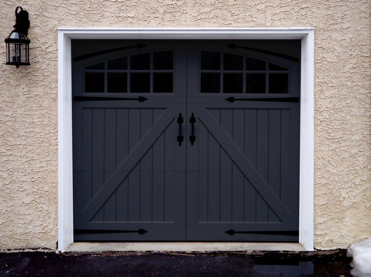 Garage Door Color Trend Black Magic Garage Door Colors Garage Doors Black Garage Doors