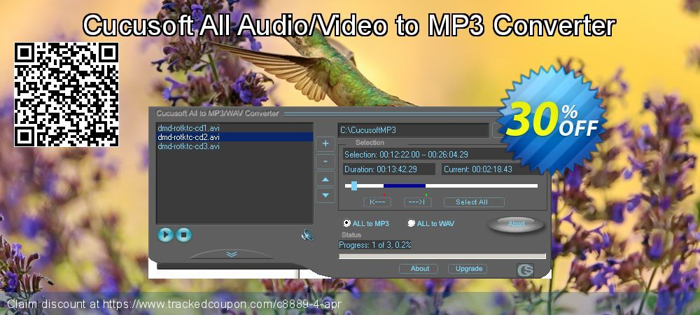 51 Off Cucusoft All Audio Video To Mp3 Converter Promo Coupon