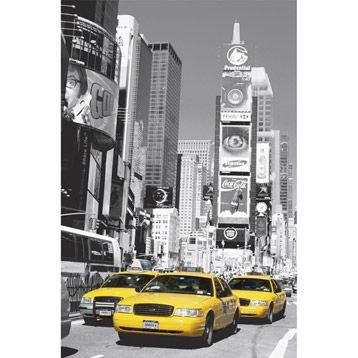 Affiche Times Square 115 X 175 Cm Papier Peint Fresque Murale Et Times Square